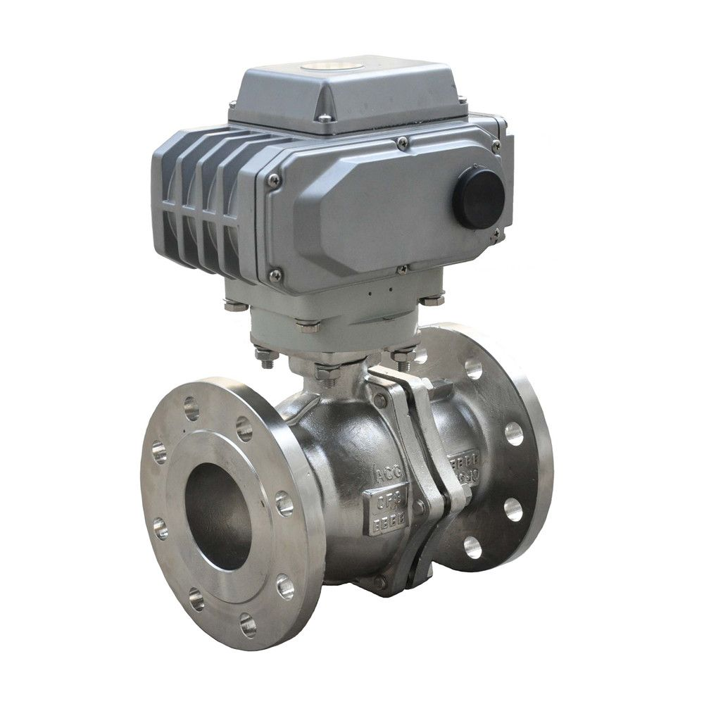 HD pneumatic cutting ball valve