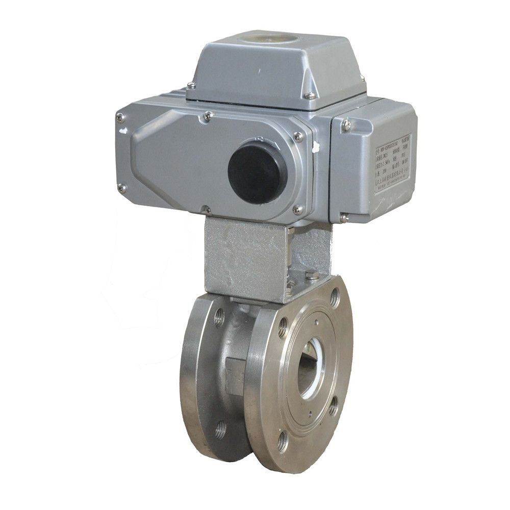 HD electric regulating ball valve