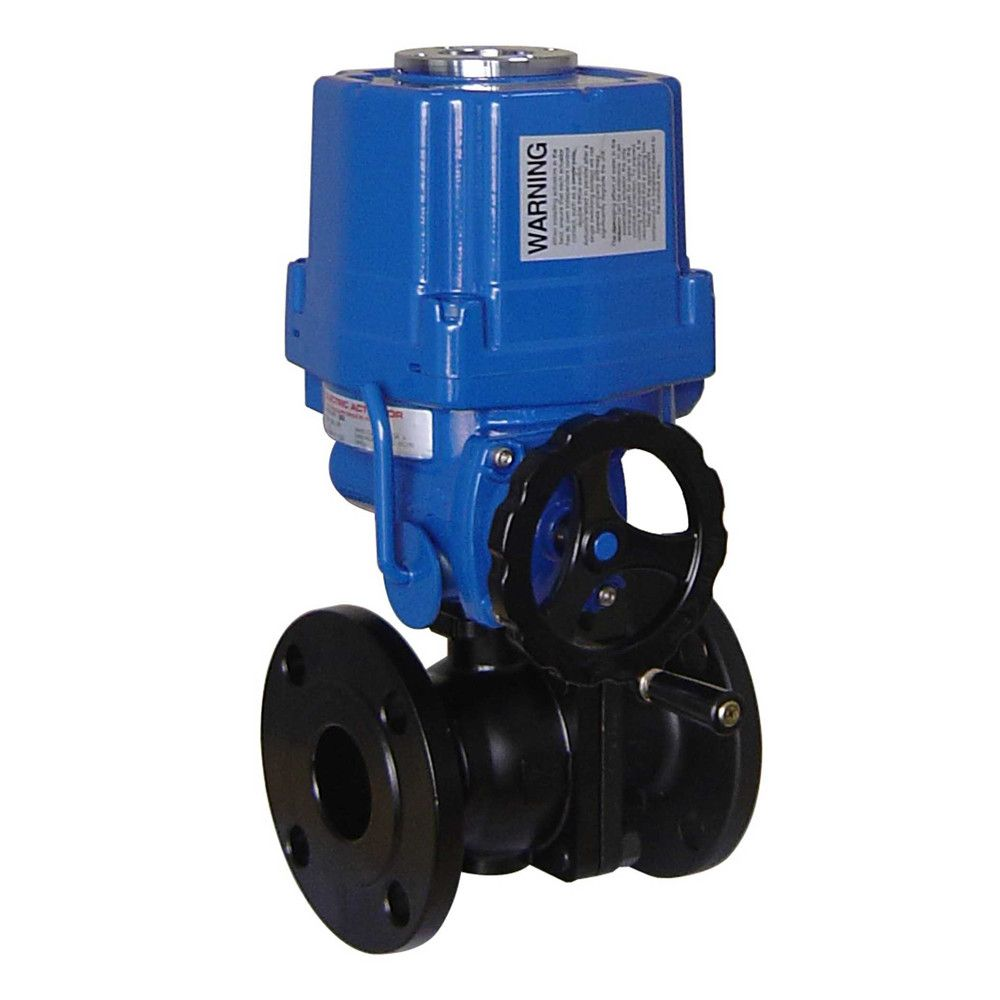 HD electric cutting ball valve (HQ)