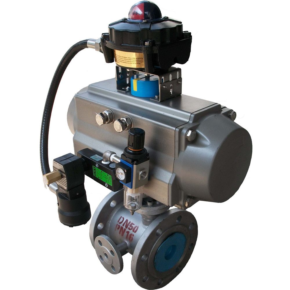 HD insulation pneumatic ball valve