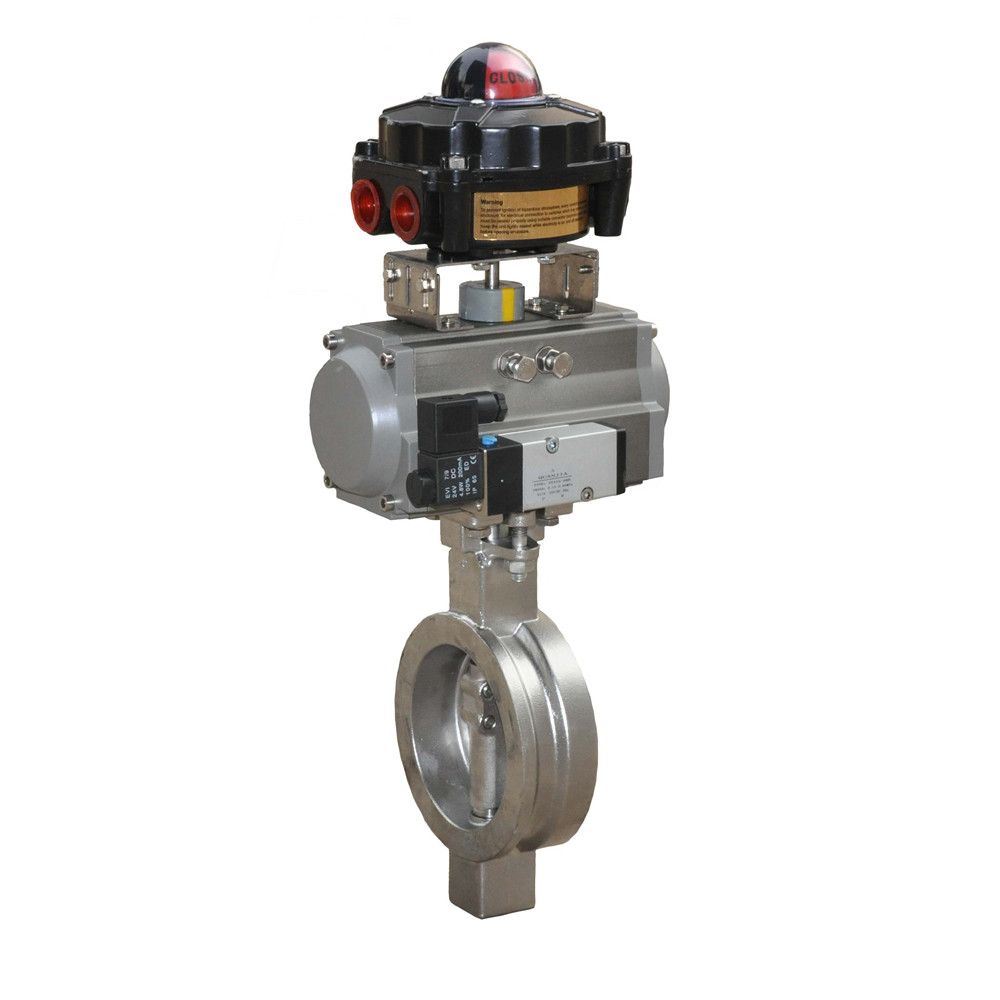 HD pneumatic high performance butterfly valve pneumatic butterfly valve