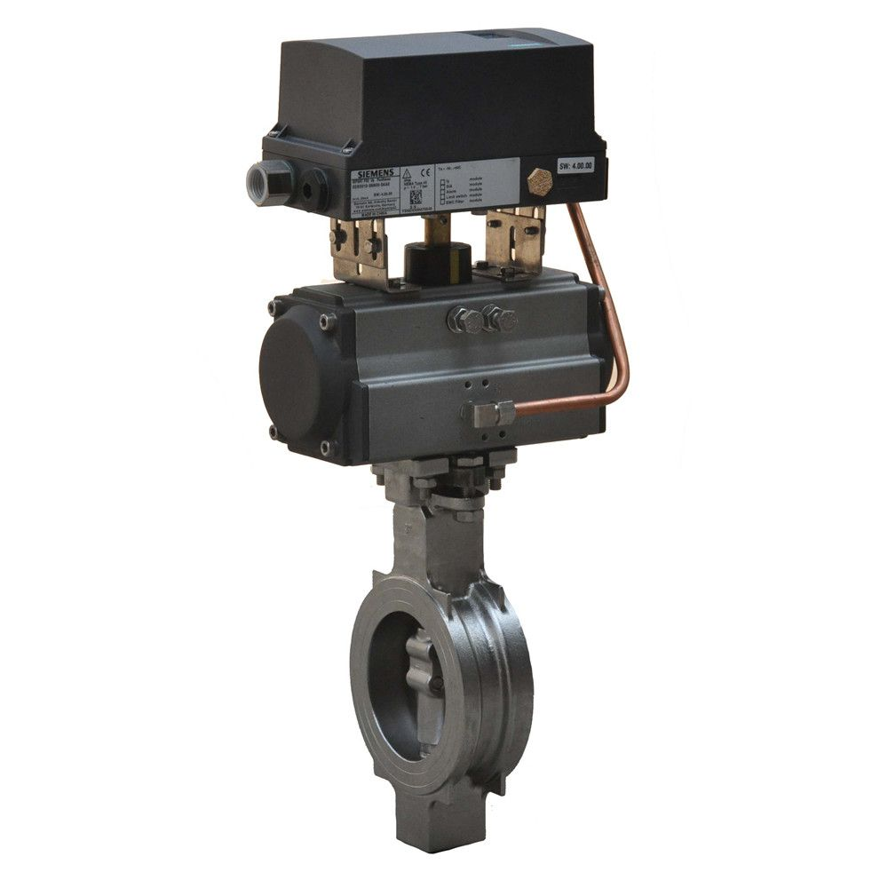 HD pneumatic high performance butterfly valve adjustment